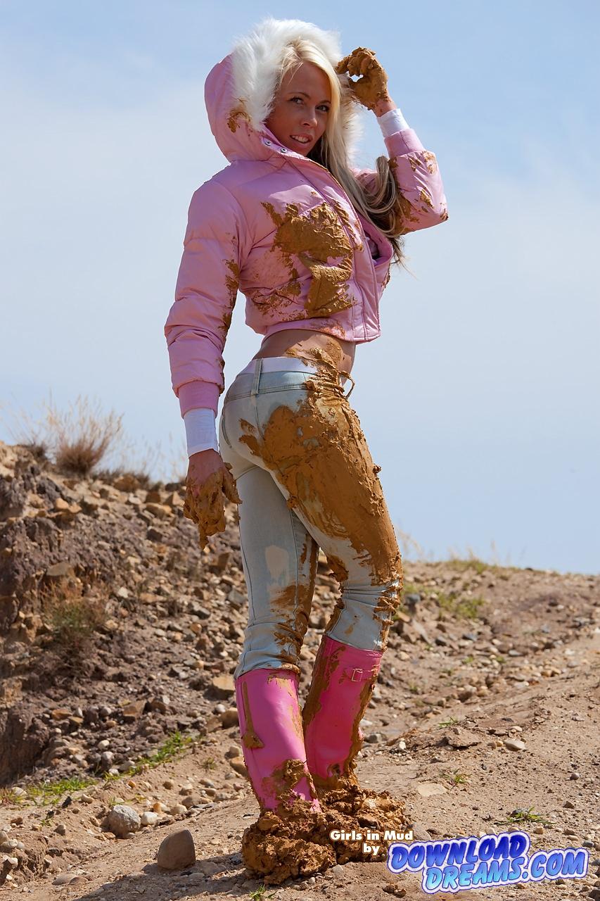 Фото девушек в грязи 8 фотография