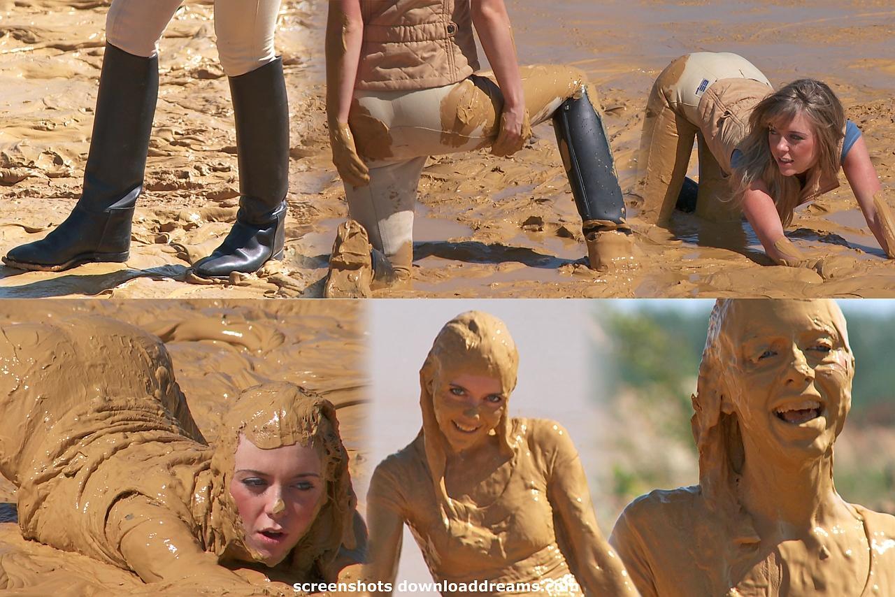 hot naked muddy girl